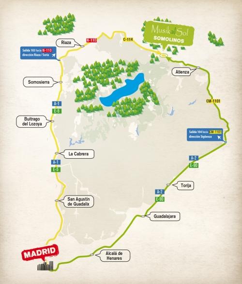 Mapa - MusikalSol2014